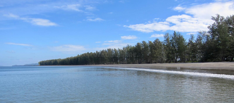 Plaża na Ko Lanta, Tajlandia fotografia stock