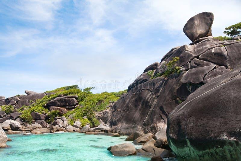 Plaża na Similan wyspach, Tajlandia obrazy stock