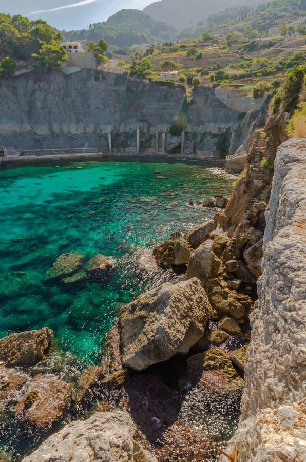 Plaża na wyspie Mallorca fotografia royalty free