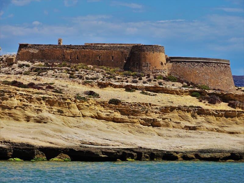Plaża Playazo De Rodalquilar Nijar Almeria Andalusia Hiszpania obrazy stock