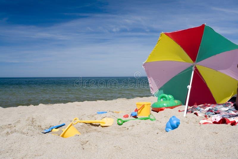 plaża przedmioty fotografia royalty free