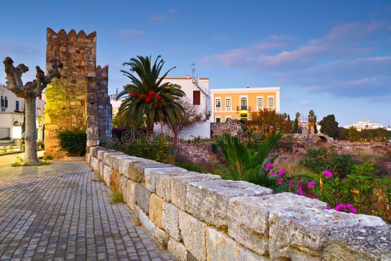 plaża przewodniczy Greece wyspy kefalos kos pomarańcze parasole fotografia royalty free