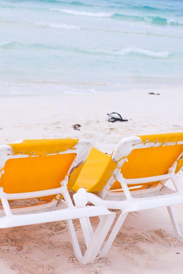 plaża przewodniczy wakacje fotografia royalty free