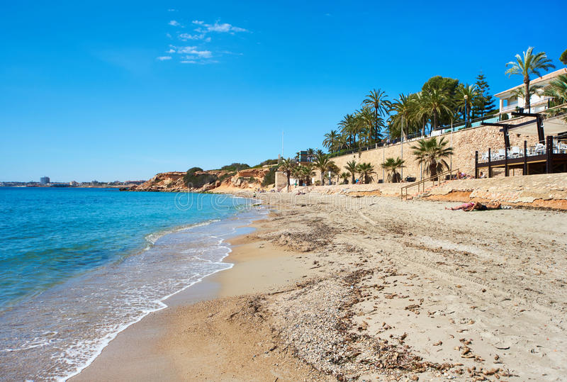Plaża Punta Prima obrazy royalty free