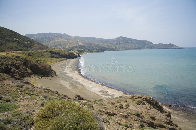 plaża pusta obraz royalty free