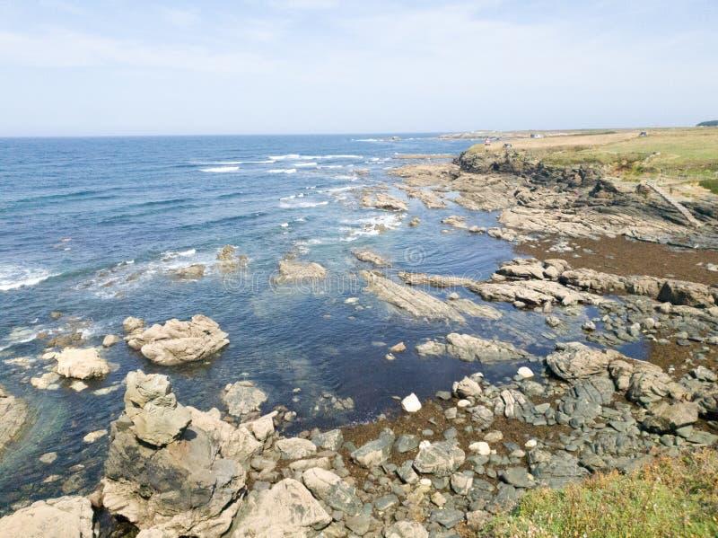 plaża skalna zdjęcia stock