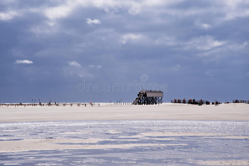 Plaża St. peter zdjęcie royalty free