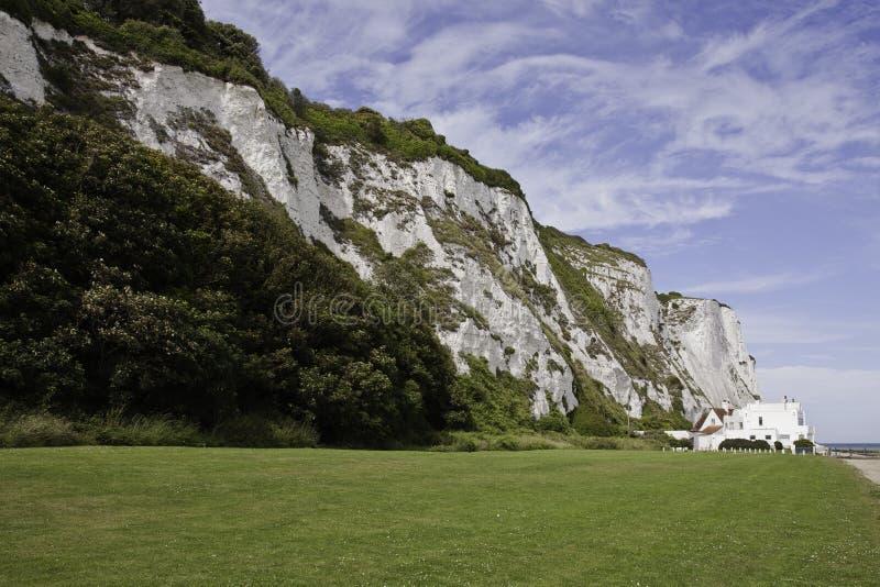 Plaża, st przy cliffe Margaret zdjęcie stock