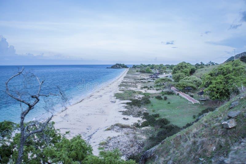 Plaża Timor Leste fotografia stock