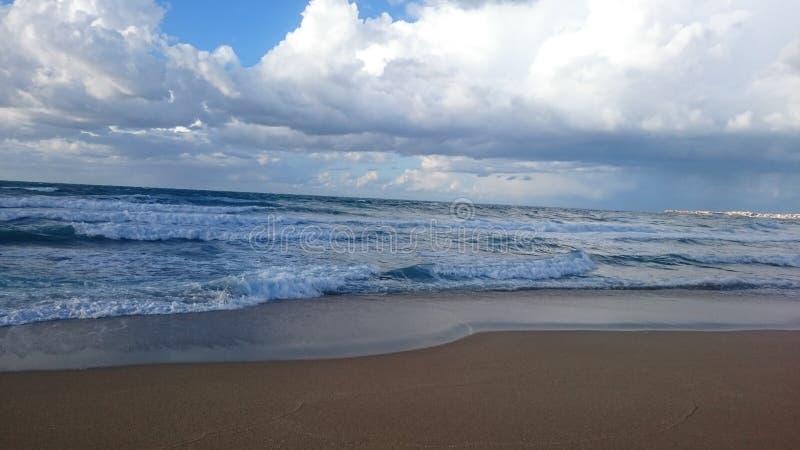 Plaża w Algieria obraz royalty free