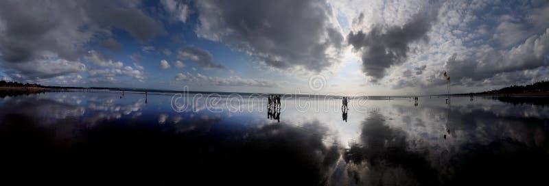 Plaża w Bali zdjęcia stock
