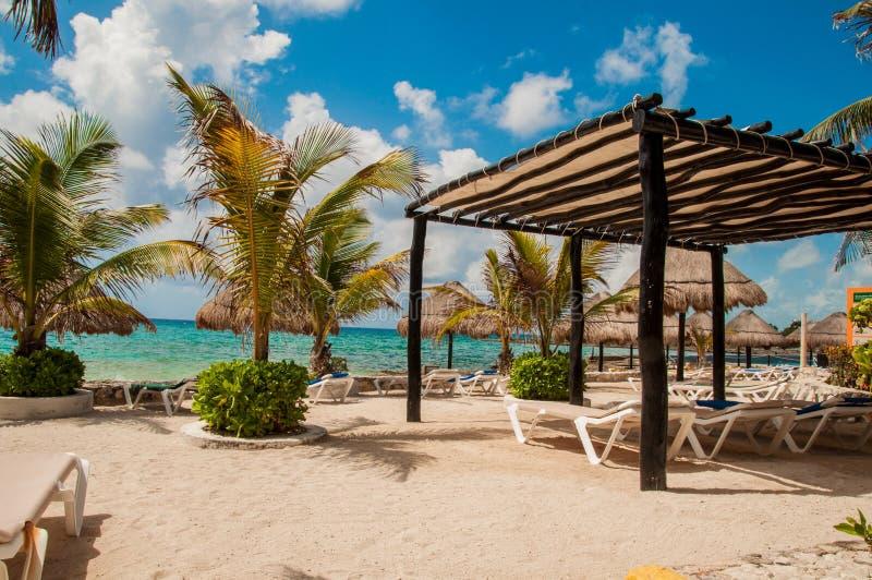 Plaża w Costa majowiu fotografia stock