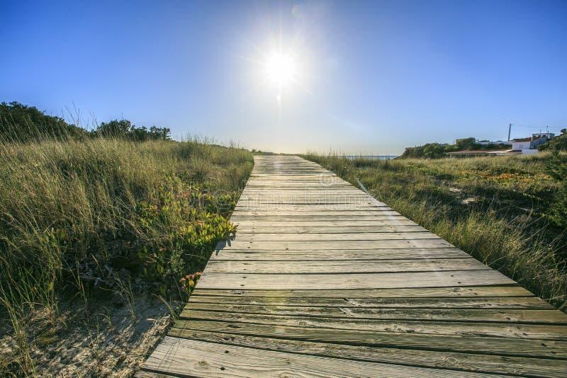 Plaża w Formentera fotografia royalty free