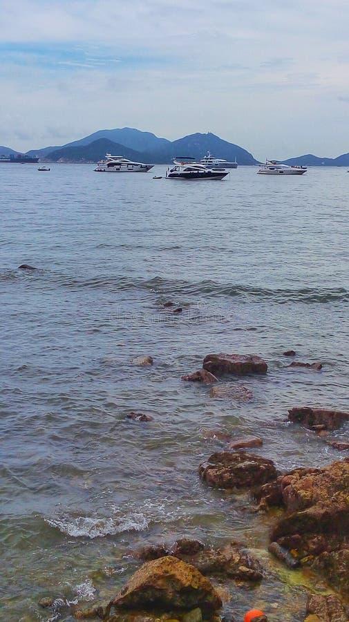 Plaża w Hongkong obrazy royalty free