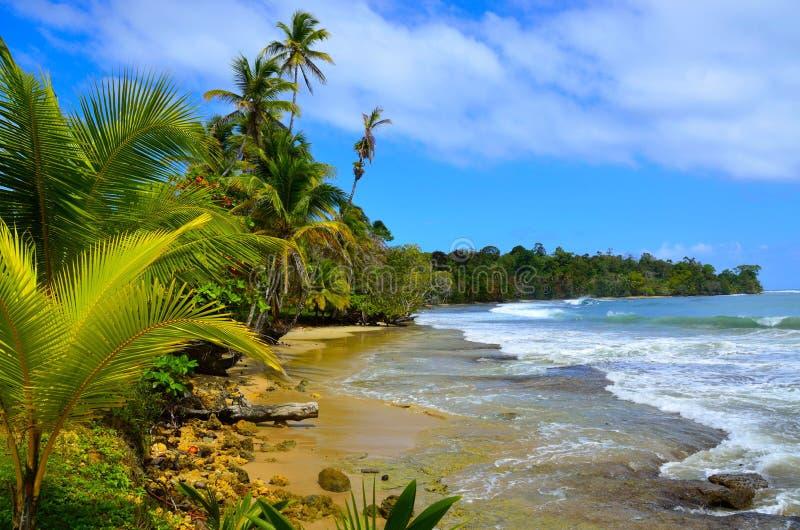 Plaża w Panama obrazy stock