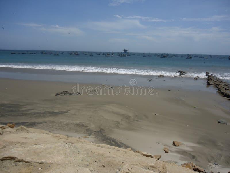 Plaża w Peru zdjęcie royalty free