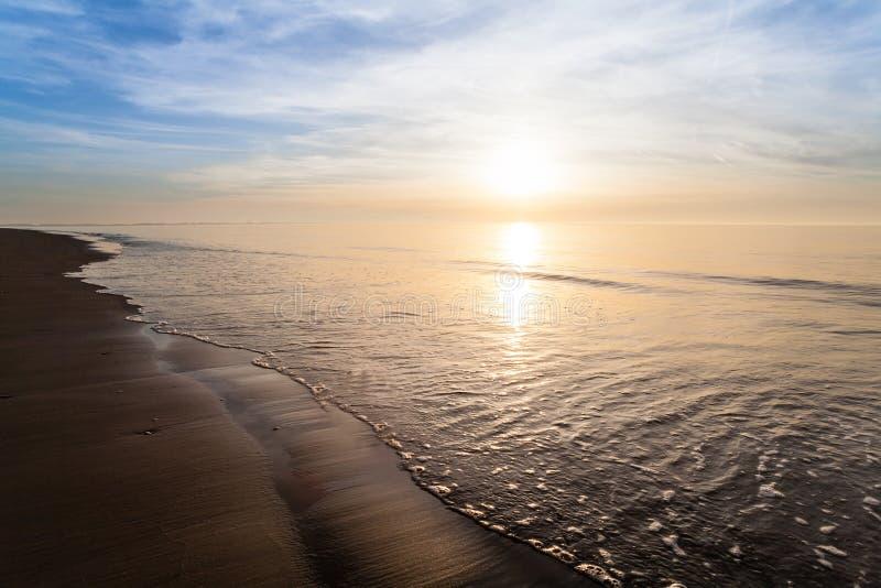 Plaża w rockanje obraz royalty free