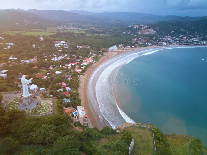 Plaża w San Juan Del Sura fotografia royalty free
