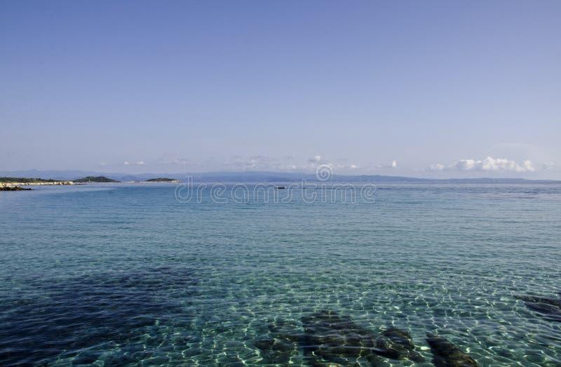 Plaża w Vourvouru Grecja obraz royalty free