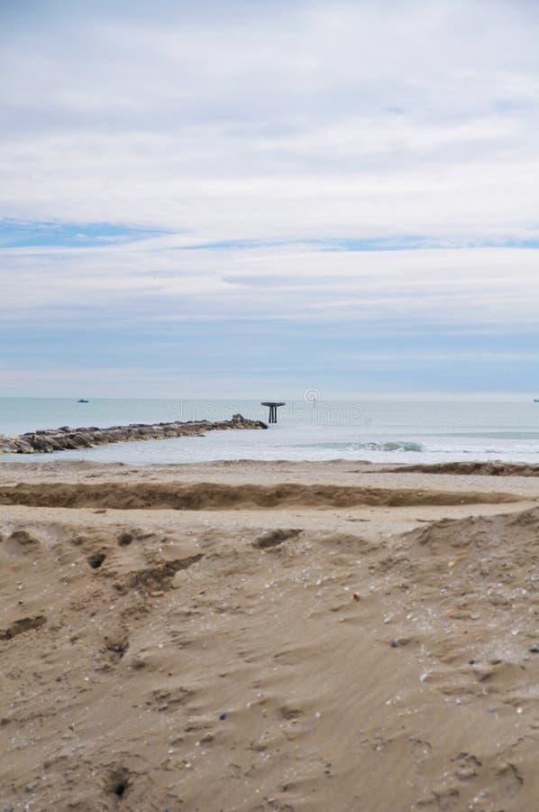 Plaża w Włochy zdjęcie royalty free