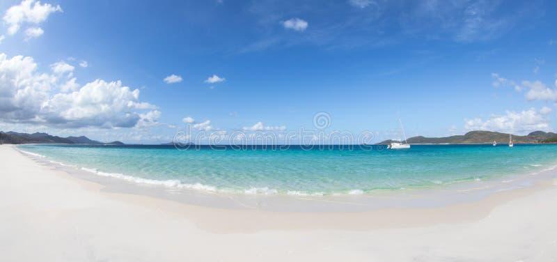 plaża whitehaven obraz stock