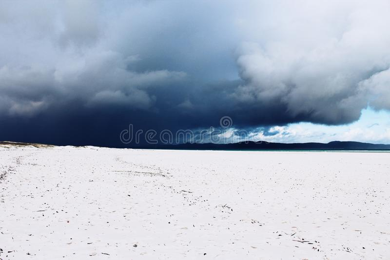 plaża whitehaven zdjęcie royalty free