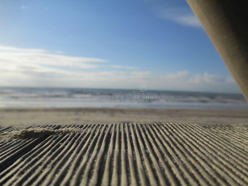 Plaża, Zandvoort, holandie zdjęcie royalty free