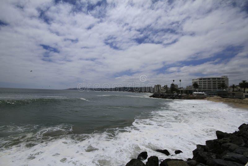 Download Plaże Valparaiso, Vina Del Mącący, Chile Fotografia Editorial - Obraz złożonej z podróż, kasztel: 57672727