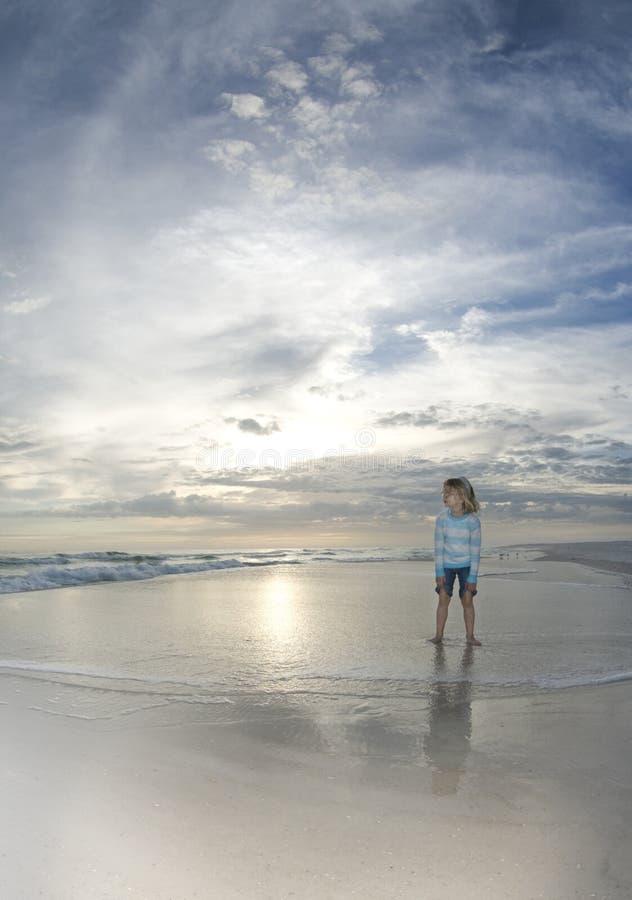plażowa dziecko kipiel zdjęcie stock
