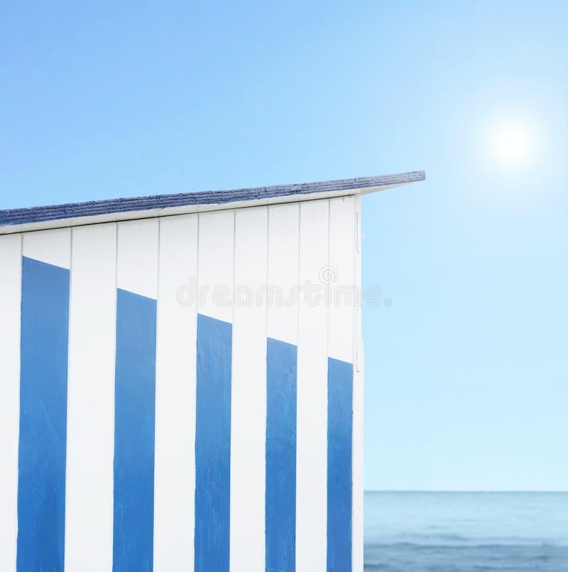 plażowa kabina obrazy stock