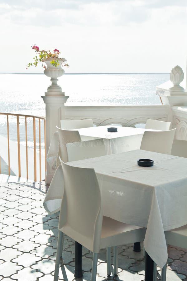 plażowa kawiarnia obraz royalty free
