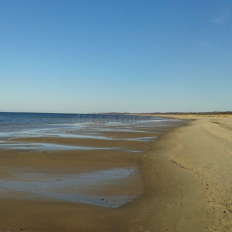 Plażowa linia horyzontu obraz stock