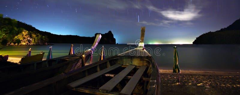 plażowa noc zdjęcia stock