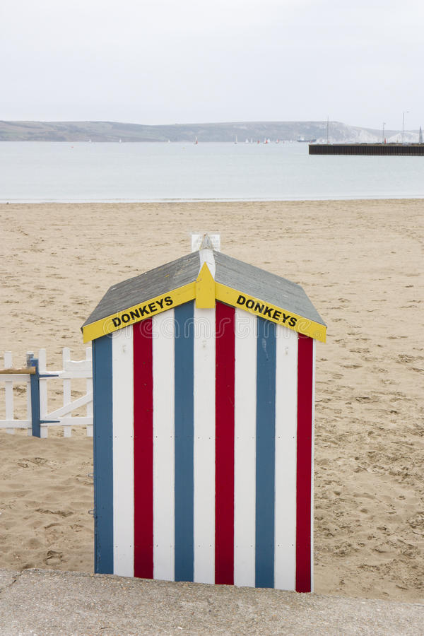 Plażowa Osła Budy Przejażdżka Fotografia Stock