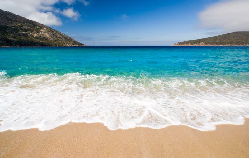 plażowa piękna scena fotografia royalty free
