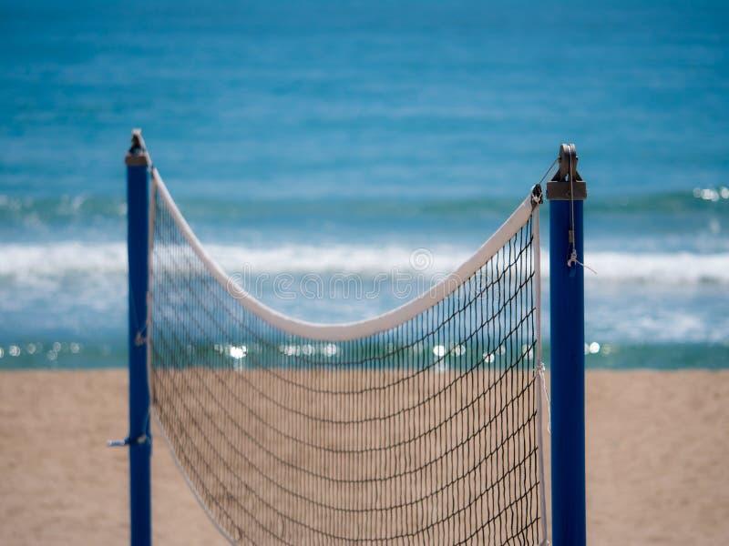 Plażowa sieć zdjęcia stock