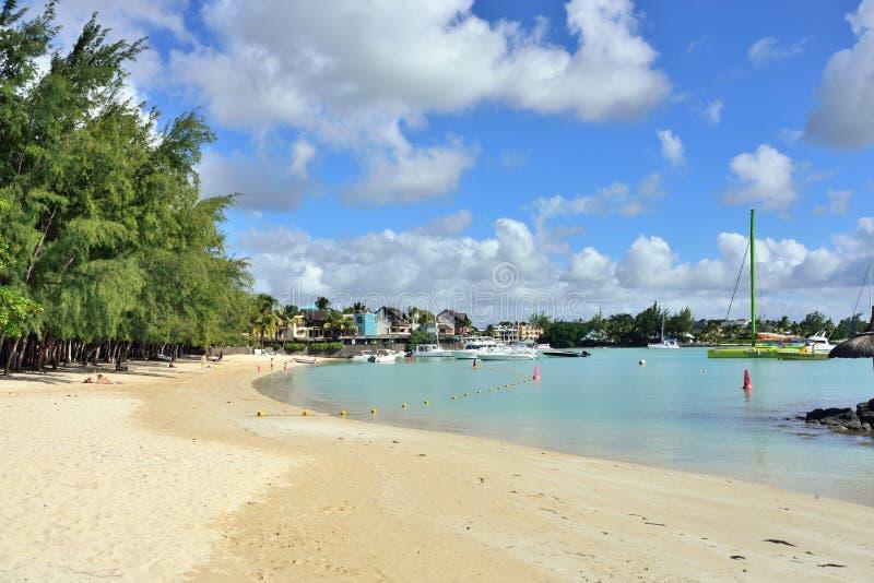 Plażowa Uroczysta zatoka fotografia royalty free