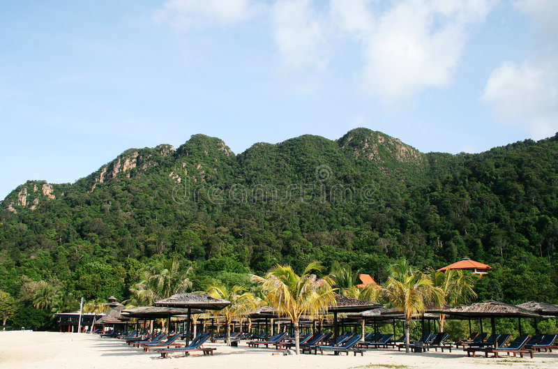 plażowa wyspa Langkawi fotografia stock
