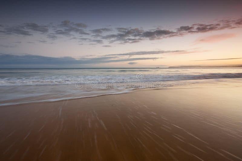 plażowe fala obraz stock