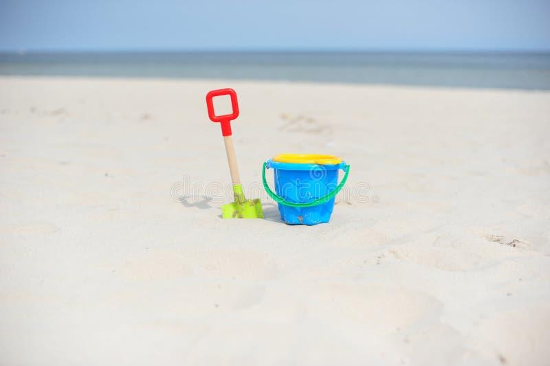 plażowe zabawki fotografia stock