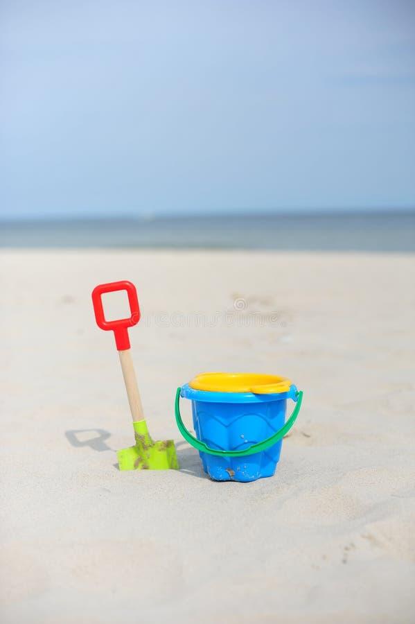 plażowe zabawki obraz stock