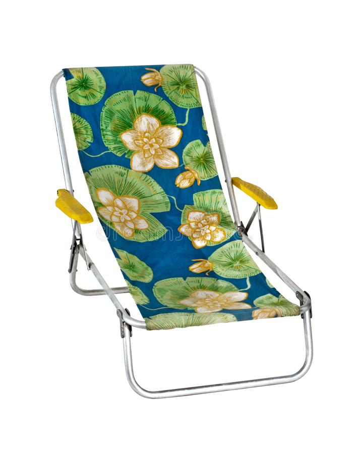 plażowego krzesła lokalizować kurortu nadmorski obrazy royalty free
