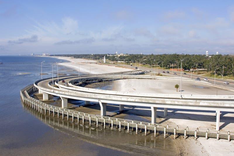 plażowej autostrady międzystanowy przejście zdjęcie stock