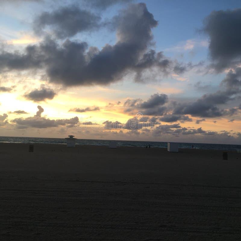 plażowi Miami na Florydzie zdjęcie stock