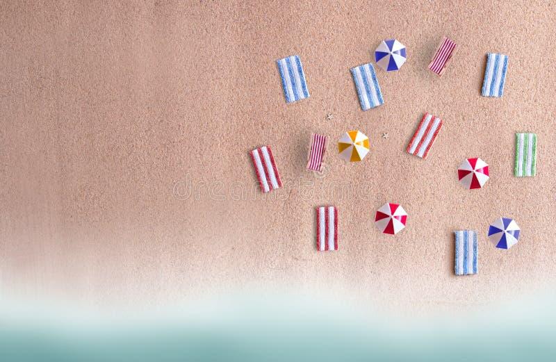 Plażowy abstrakcjonistyczny tło obraz stock