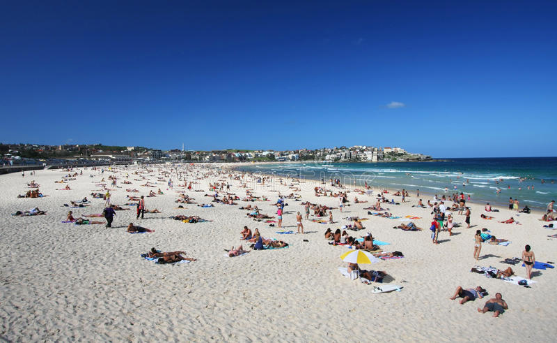 plażowy Australia bondi Sydney obrazy stock