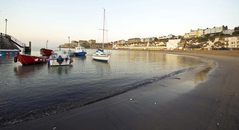 plażowy broadstairs England thanet obraz royalty free