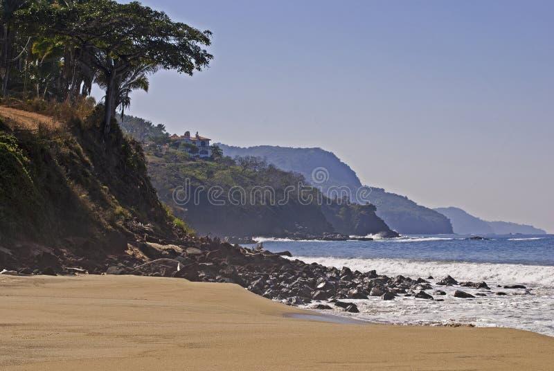 plażowy brzegowy ocean Pacific zdjęcie royalty free