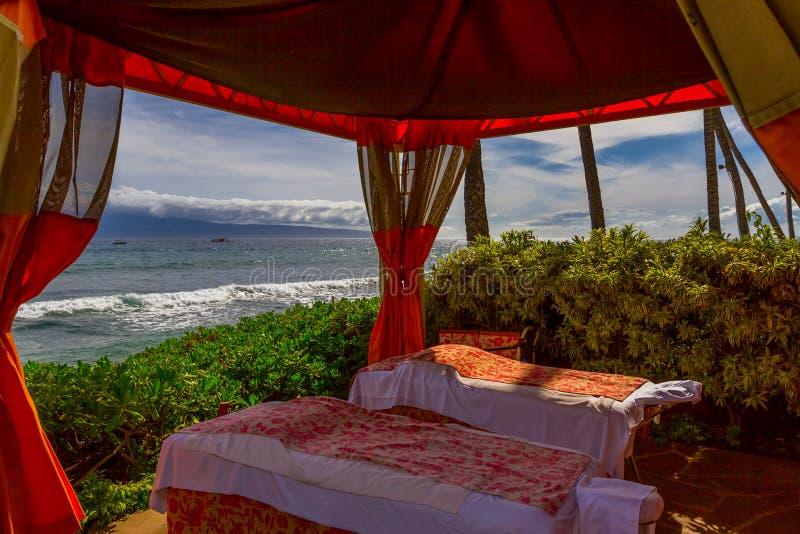 Plażowy Cabana obraz royalty free