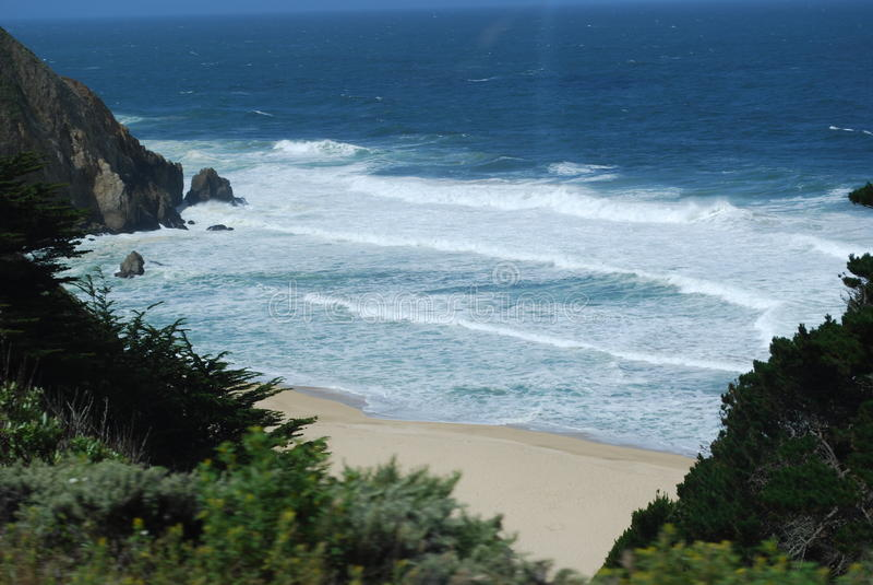 plażowy California obrazy royalty free
